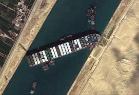 The Traffic Jam in the Suez Canal